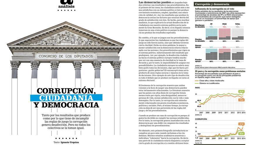 Análisis de Ignacio Urquizu sobre la percepción de la corrupción de los españoles en Cuadernos #7.