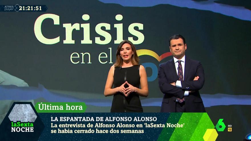 """Verónica Sanz e Iñaki López anuncian la """"espantada"""" de Alfonso Alonso"""