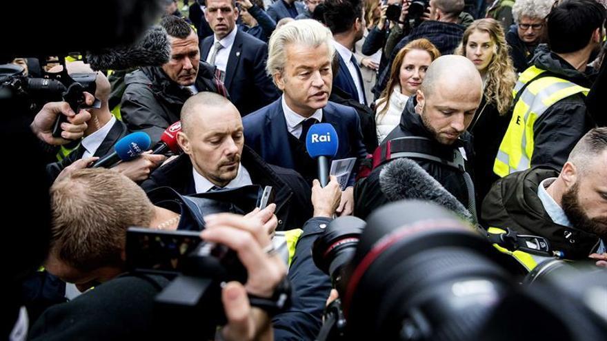 Wilders promete desislamizar Holanda en su primer día de campaña electoral