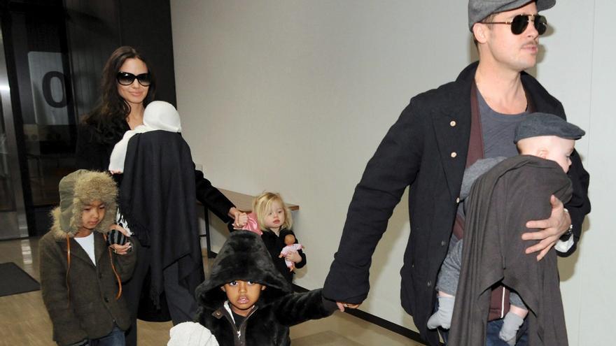 Cinco años de batalla legal para lograr la custodia compartida por Pitt y Jolie