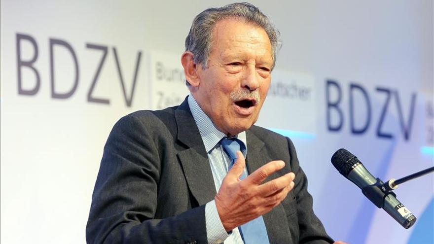 Muere el editor alemán de medios Neven DuMont a los 88 años