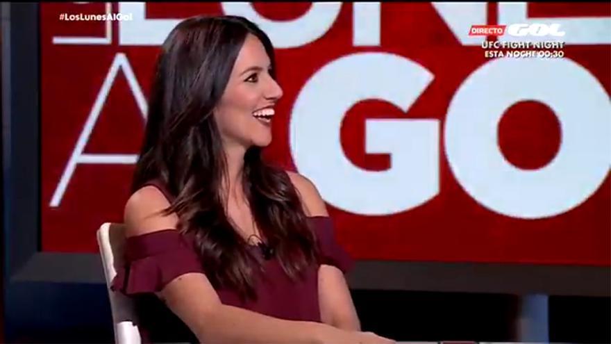 Irene Junquera, invitada en Los lunes al Gol