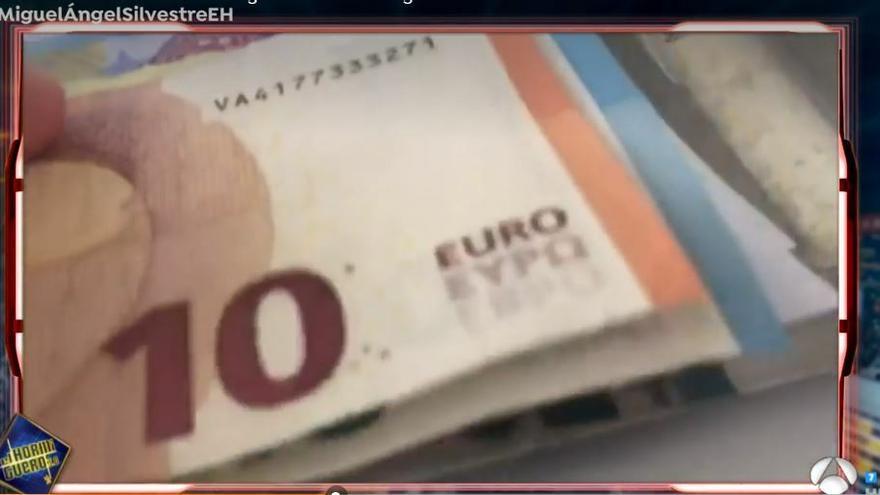 Si tienes este billete de 10 euros puedes ganar 3.000: 'El Hormiguero' da el número de serie para encontrarlo