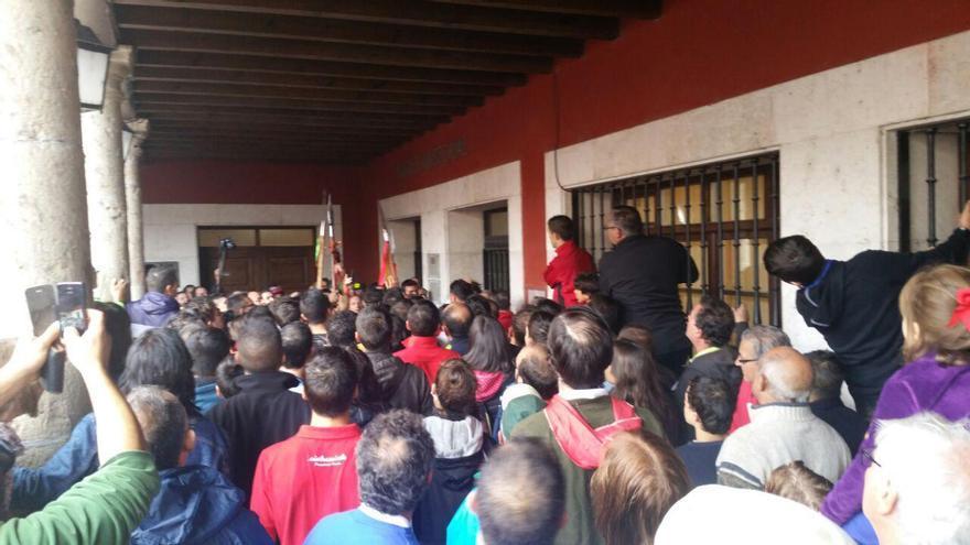 Protestas por declararse nulo el Toro de la Vega.