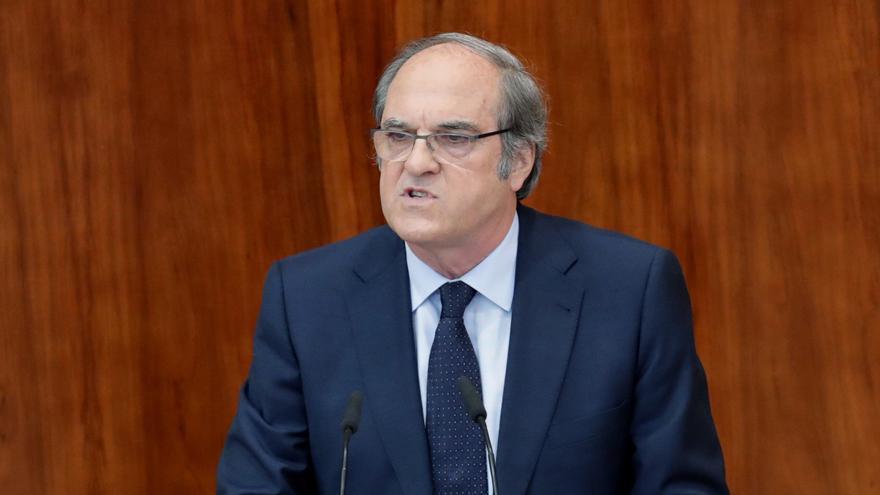 El portavoz del PSOE Ángel Gabilondo sobre el máster de Cifuentes