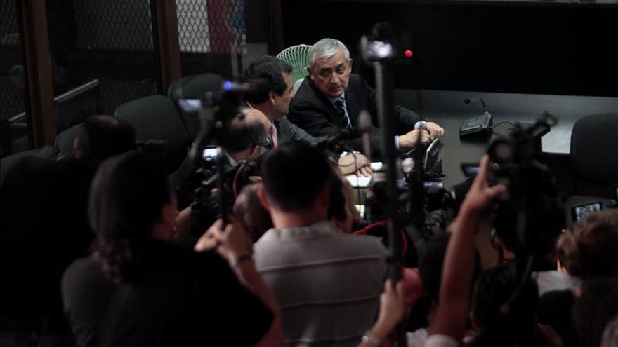 Juez ordena procesar al expresidente de Guatemala Pérez Molina por corrupción