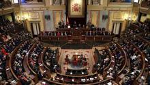 Imagen del pleno del Congreso.