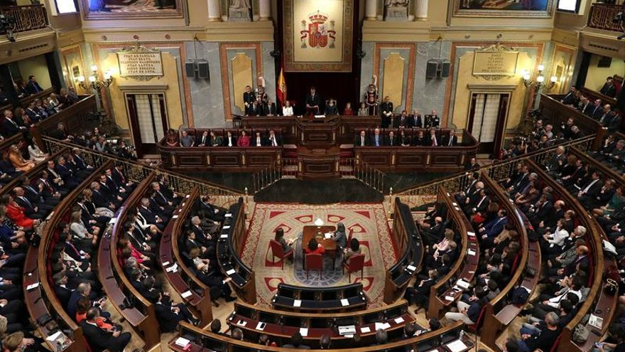 El pleno del Congreso no tienen previsto ningún pleno hasta febrero