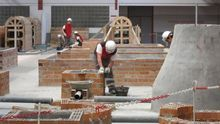 La construcción es el sector en Navarra con más accidentes por cada mil trabajadores.