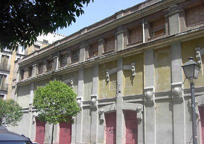 Antiguo Teatro Maravillas, derribado en el año 2002   Foto: A. Castro