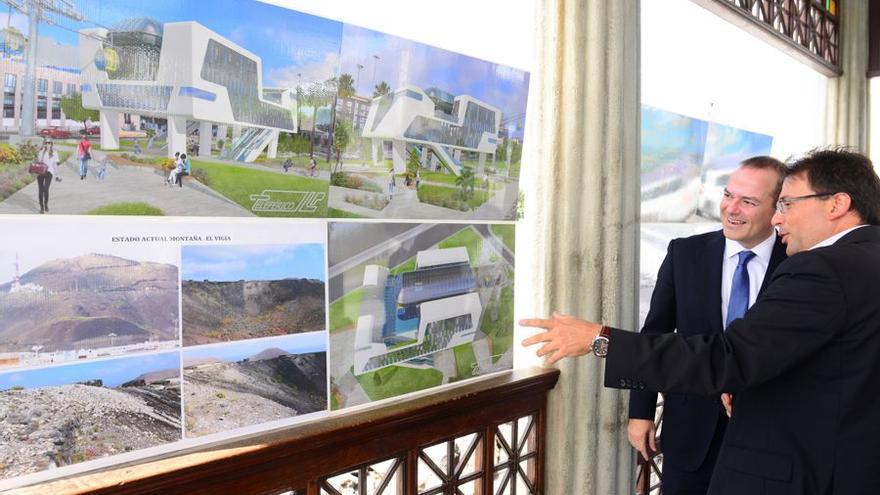 Un grupo de empresarios canarios plantea instalar, con una inversión de 10,5 millones de euros, un teleférico en Las Palmas de Gran Canaria.