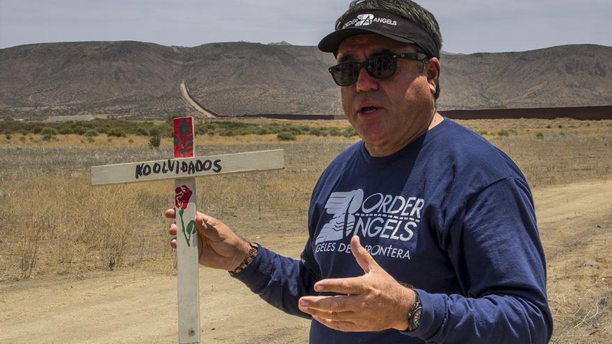 Enrique Morones director y fundador de la ONG border Angels   José Pedro Martínez