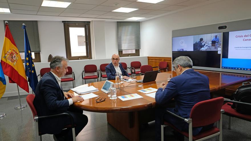 Reunión del Comité de Expertos de Emergencia Sanitaria.