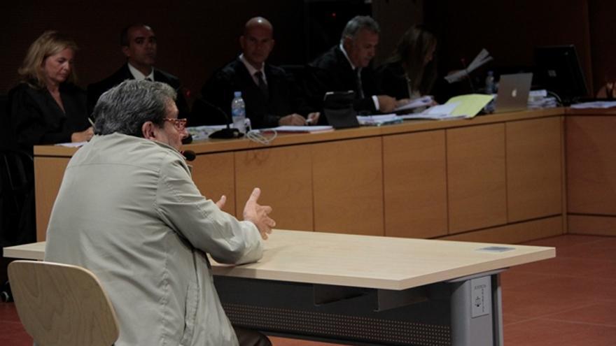 Enrique Pérez Parrilla, ex alcalde de Arrecife / Foto: De la Cruz.