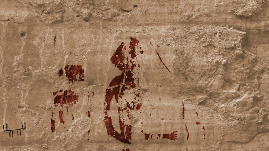 Arte rupestre en Cuenca