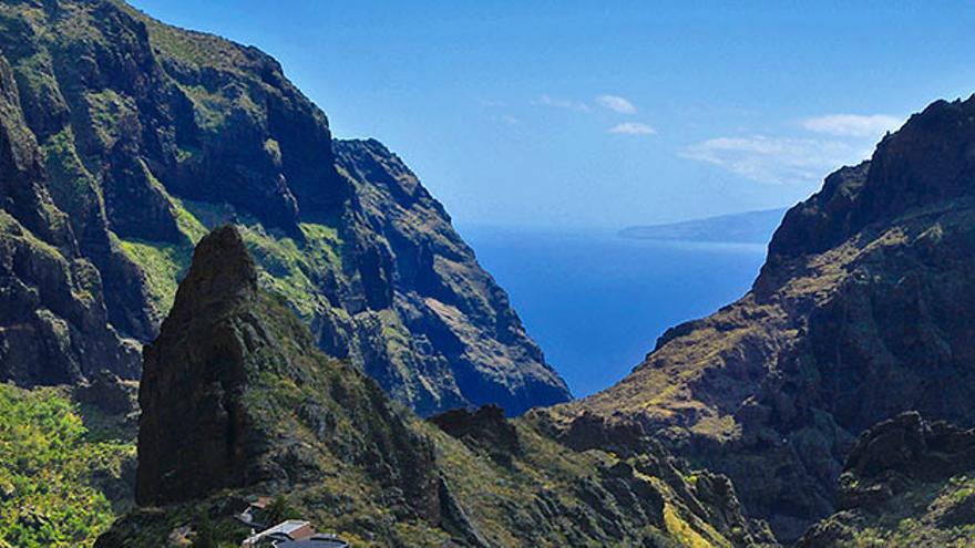 Caserío de Masca, en Tenerife