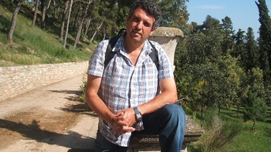 Óscar García, presidente del Grupo Espírita de La Palma.