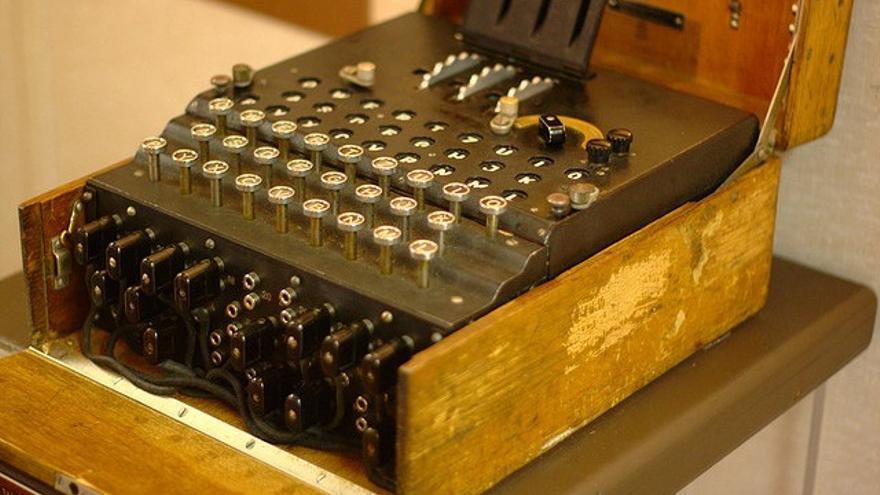 La máquina Enigma, que los alemanes creían indescifrable