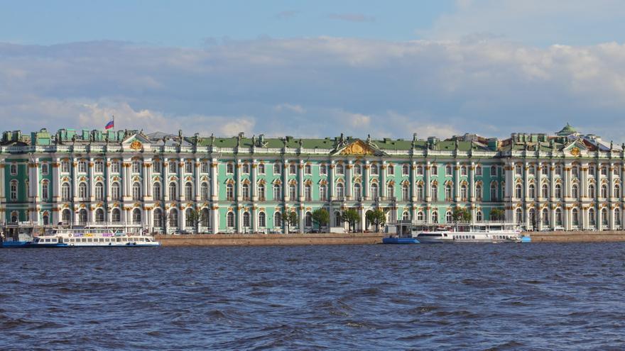 El Museo del Hermitage en el Palacio de Invierno zarista