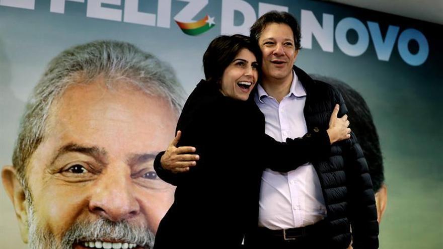 Haddad y la excandidata comunista aúnan fuerzas en torno a la figura de Lula