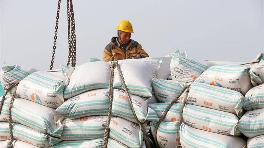 El comercio exterior de China crece un 9,9 % en tres primeros trimestres