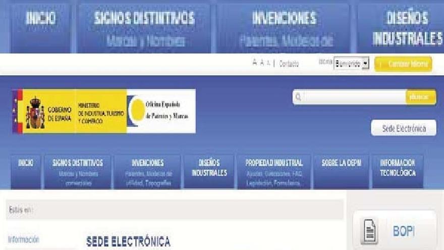 Las patentes concedidas en España bajan un 6,9% hasta junio
