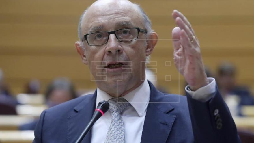 """Montoro advierte del """"error"""" de la nueva política de """"liquidar la austeridad"""""""