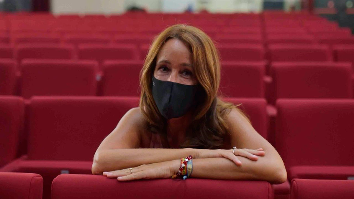 La concejala de Cultura, Marián Aguilar.