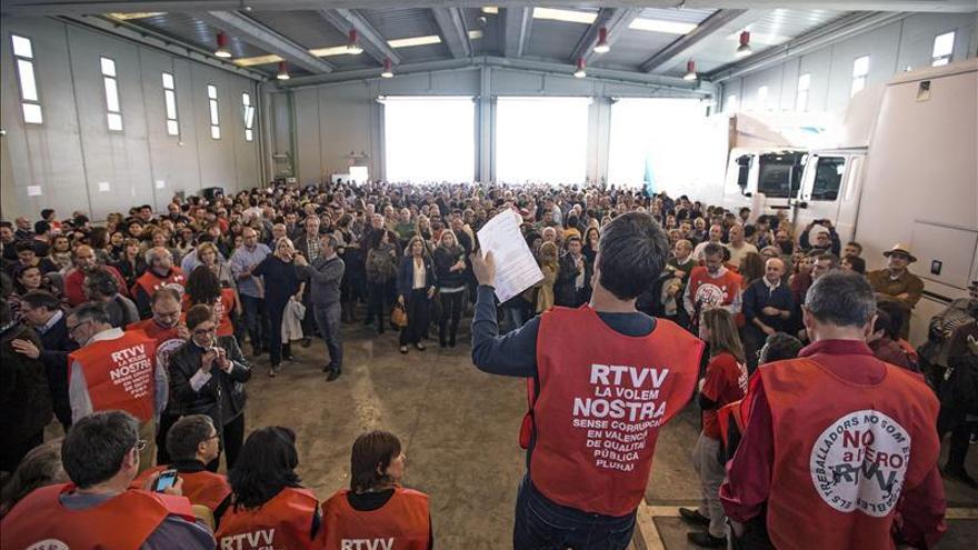 La Audiencia Nacional suspende el juicio del ERE de RTVV en espera del Constitucional