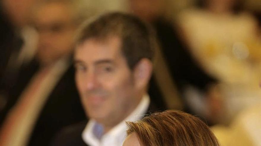 La consejera de Hacienda del Gobierno de Canarias, Rosa Dávila. (Efe/Elvira Urquijo).