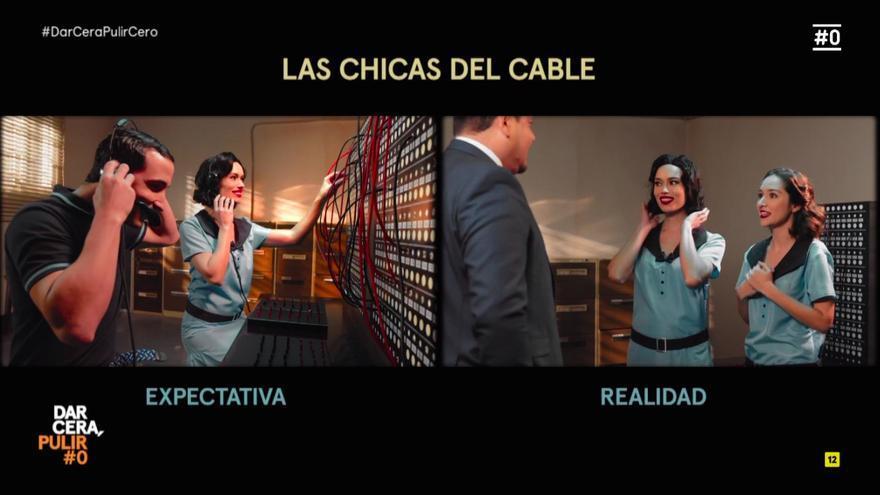 Patricia Conde mostró cómo deberían haber sido 'Las Chicas del Cable' para ser una serie feminista