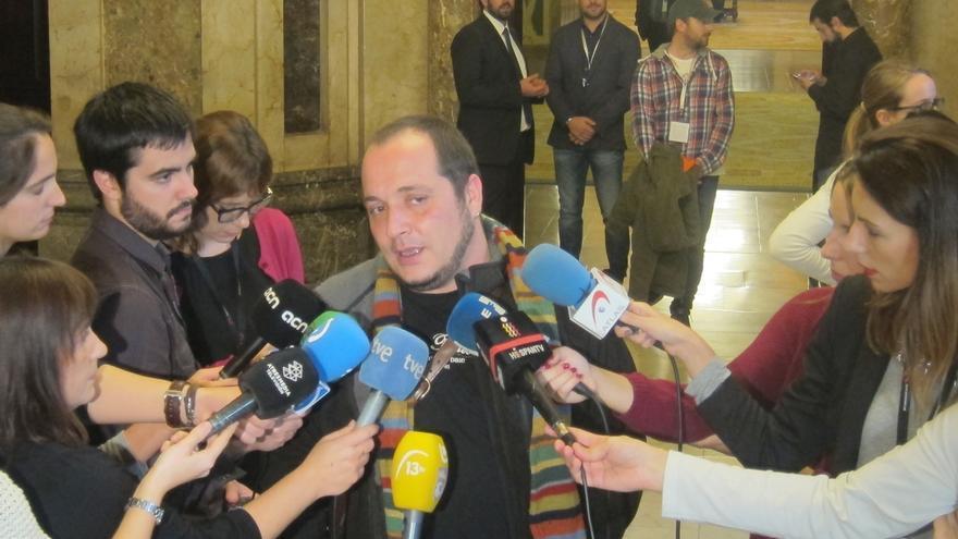 """David Fernández (CUP) cree que Mas hizo """"una OPA a ERC"""" y se reunirá con Junqueras"""