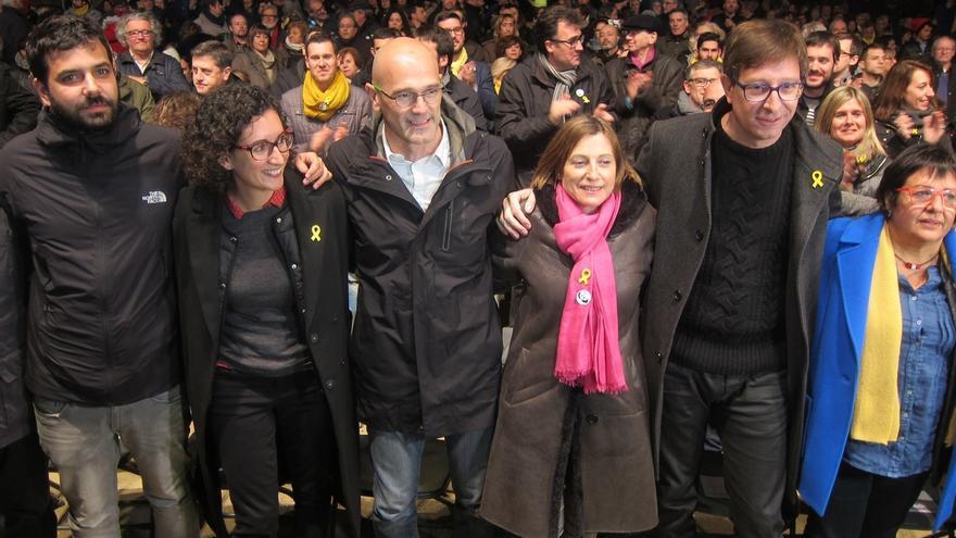 """Rovira pide el voto por ERC porque Junqueras es """"cambio, esperanza y justicia"""""""