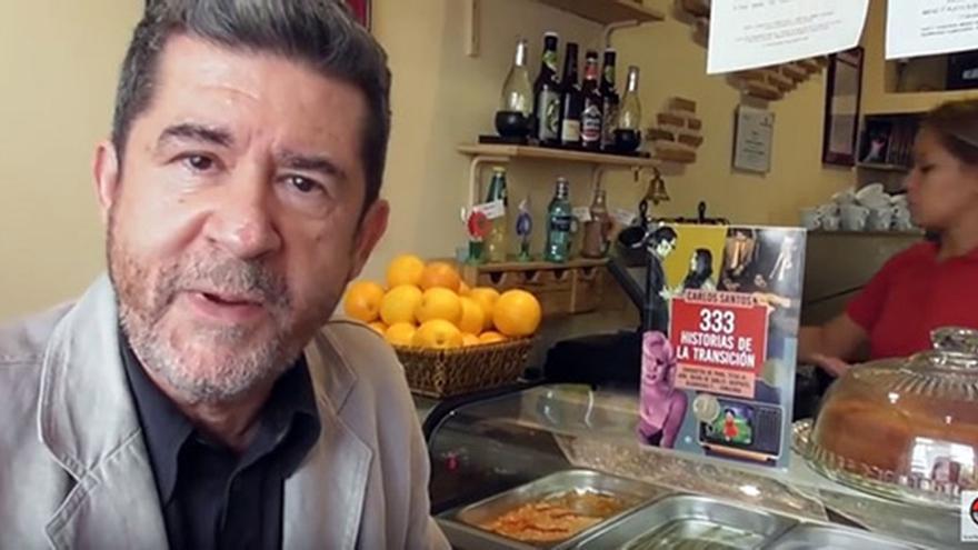 Carlos Santos, autor del libro. / LA ESFERA DE LOS LIBROS