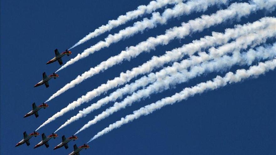 Defensa ahorra 80.000 euros suprimiendo el vuelo de la patrulla Águila el Día de las Fuerzas Armadas