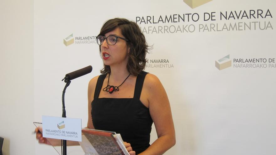 """Laura Pérez, con """"satisfacción moderada"""" por el resultado en Navarra, dice que serán """"leales al cambio"""""""