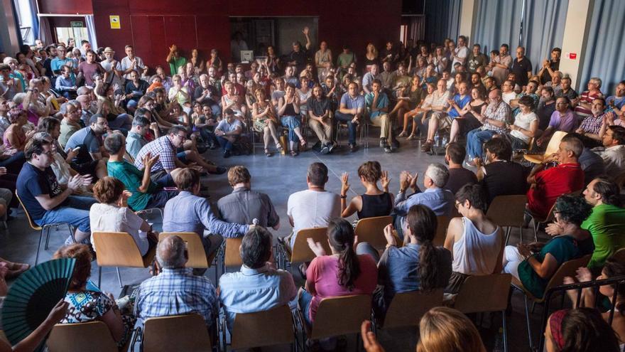 I Asamblea Ahora Aragón en Común. Foto: Juan Manzanara
