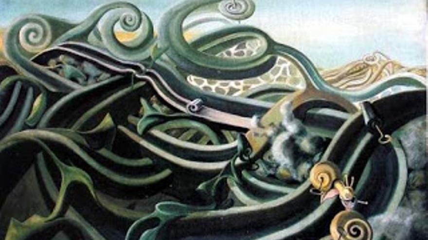 Los caracoles, Óscar Domínguez (1940)