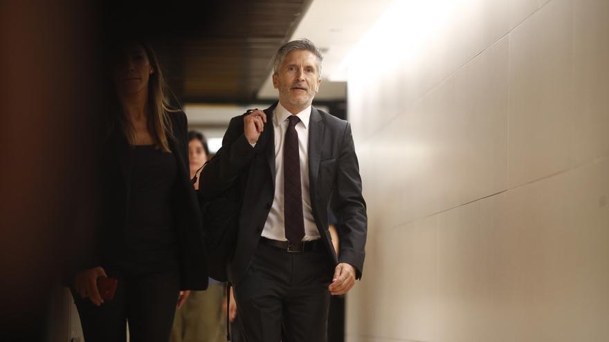Marlaska espera llegar a acuerdos con la Generalitat sobre lazos amarillos en la Junta de Seguridad del 6 de septiembre