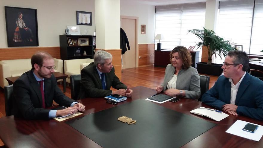Reunión de CEAT Castilla-La Mancha con Patricia Franco