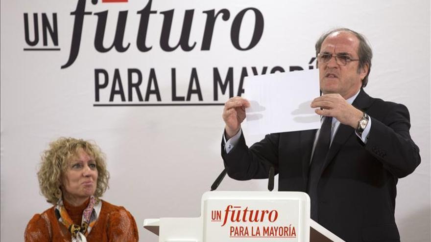 Gabilondo reconoce el mal resultado electoral pero descarta liderar el PSOE-M