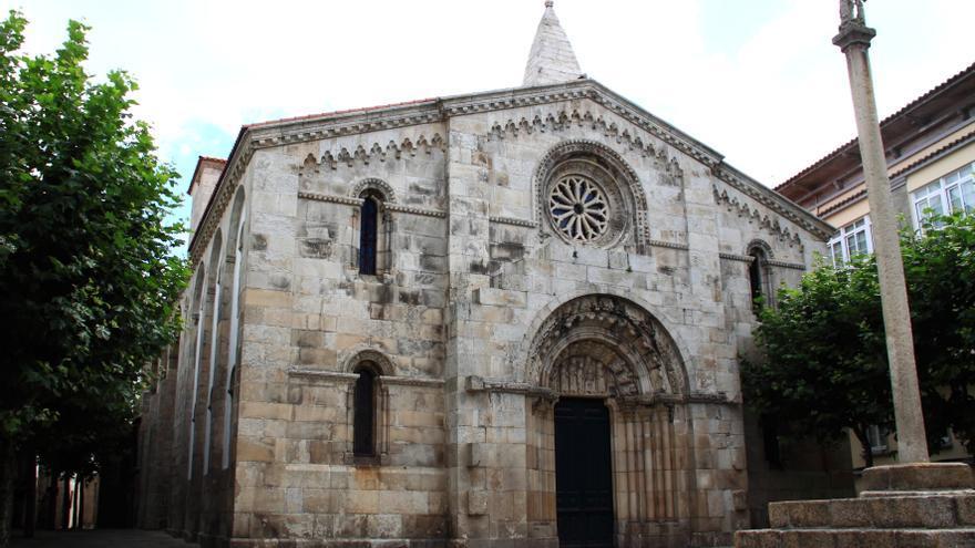Colegiata de Santa María en A Coruña