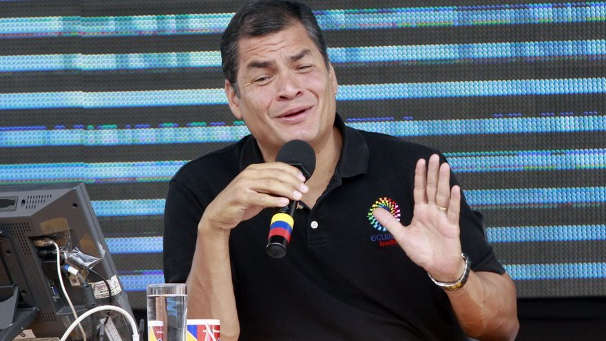 El presidente de Ecuador pide luchar por un mundo de paz y tolerancia