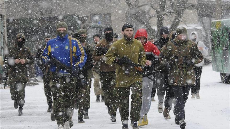 Siete militares muertos en combates en el este de Ucrania