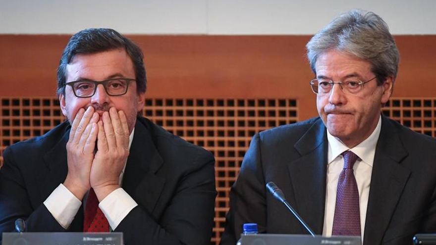"""Gentiloni ve """"crucial"""" el año 2018 para el futuro de la Unión Europea"""