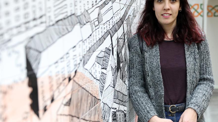 Adriana está estudiando el máster de acceso al profesorado en Madrid