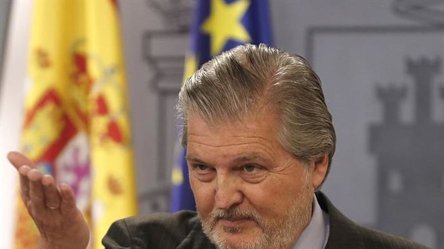 El ministro de Educación, Iñigo Méndez de Vigo, en una imagen de archivo.