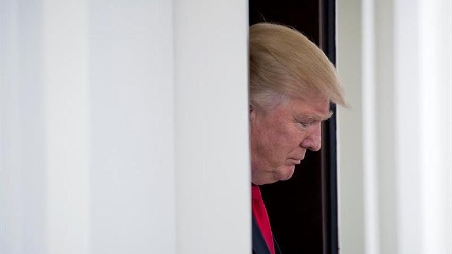 """Trump cree que factores """"externos"""" pueden influir en las elecciones en Francia"""