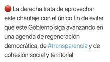 El PP pide cuentas a Delgado por utilizar el Twitter de su Ministerio para cargar contra la oposición