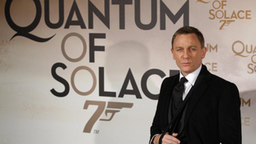 Actor británico que interpreta a James Bond, Daniel Craig